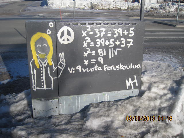 Have you ever seen Math Graffiti? « Penn-Finn Learnings 2013